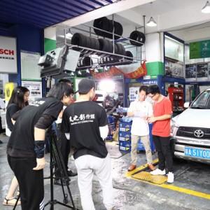 海飞变速箱油宣传视频摄制