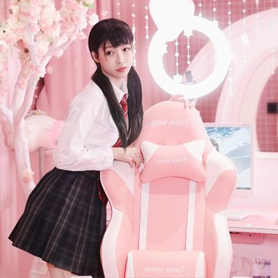 安德斯特粉色桌椅蔷薇王座、猫耳动人